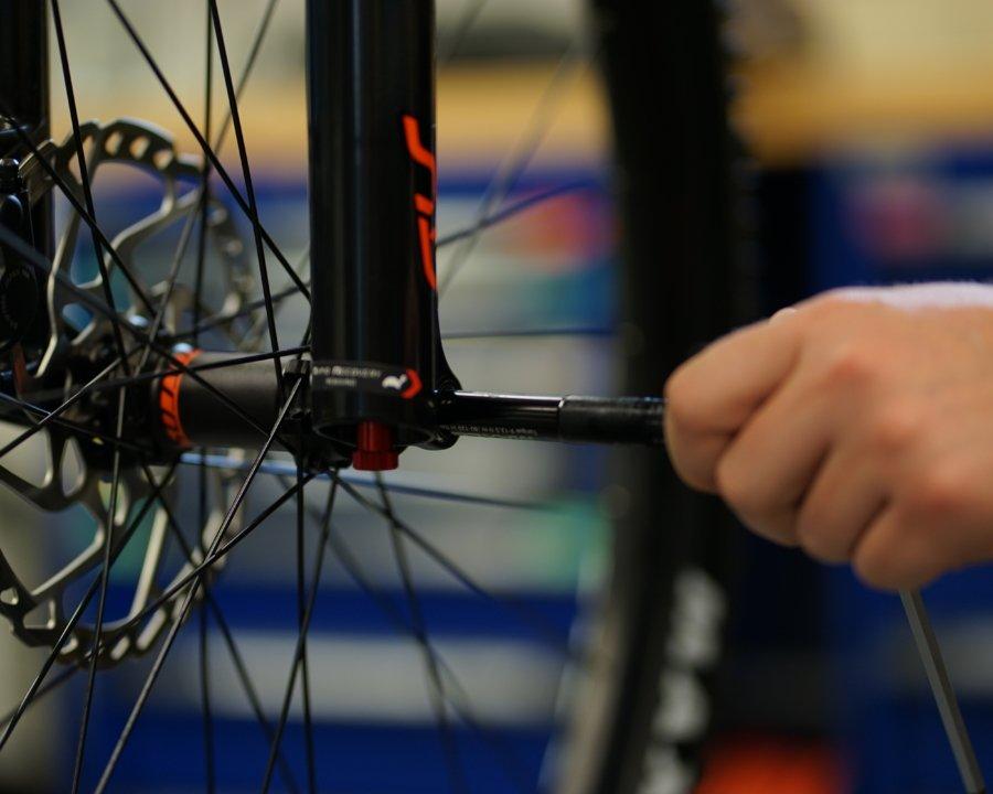 Bikewartung und -Pflege